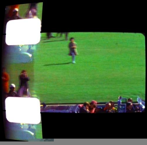 """Un fotogramma dello """"Zapruder film""""."""