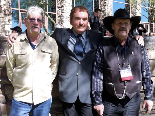 Da sinistra, John Goulette, Travis Walton e Steve Pierce