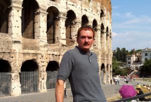 Travis Walton a Roma nel 2012. (photo: Maurizio Baiata)