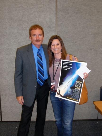 Lori Wagner e Travis Walton (Photo: Lori Wagner)