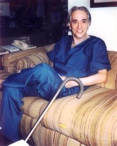 Michael Wolf, fotografato da Paola Harris, nella casa dello scienziato ad Hartford (Connecticut).