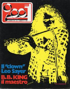 Cover Ciao 2001 n.9 3.3.74