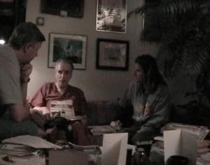 Gabriella e Max Poggi con il dottor Michael Wolf.