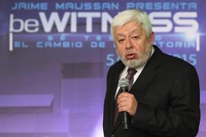 l giornalista messicano Jaime Maussan  NOTIMEX/FOTO/CARLOS PEREDA MUCIÃ'O/CPM/ACE/