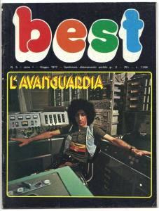 """La copertina dello speciale """"Best"""" dedicato all'Avanguardia."""