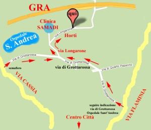 mappa Horti
