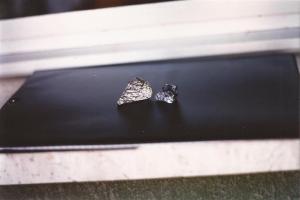 Due frammenti del dottor Wolf (foto: Pietro Ponzo)