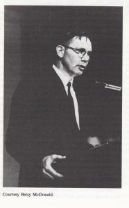 James McDonald at the University of Arizona