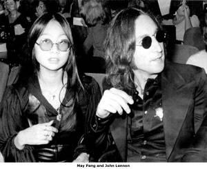 May Pang e John Lennon.