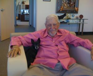 The last picture I took of Col. Stevens in 2010, at Open Minds premises, in Tempe (AZ). (photo: Maurizio Baiata)