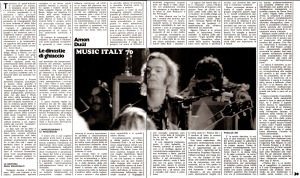 Ciao 2001 AMONDUUL testo 1