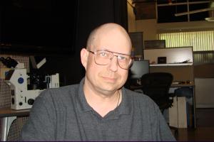 Dan Burisch, nella sede di Open Minds Magazine, Tempe, AZ, 2010. Photo: Maurizio Baiata